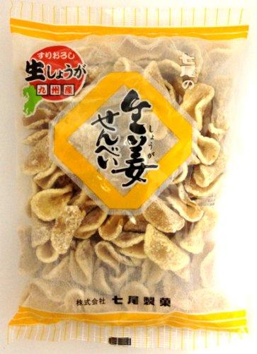 七尾製菓 生姜せんべい 150g×12袋