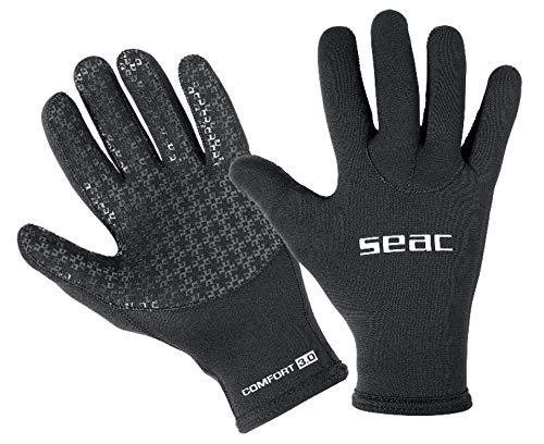 Seac Comfort 3.0, Neopren 3mm Tauchhandschuhe und Anti-Rutsch-Handfläche
