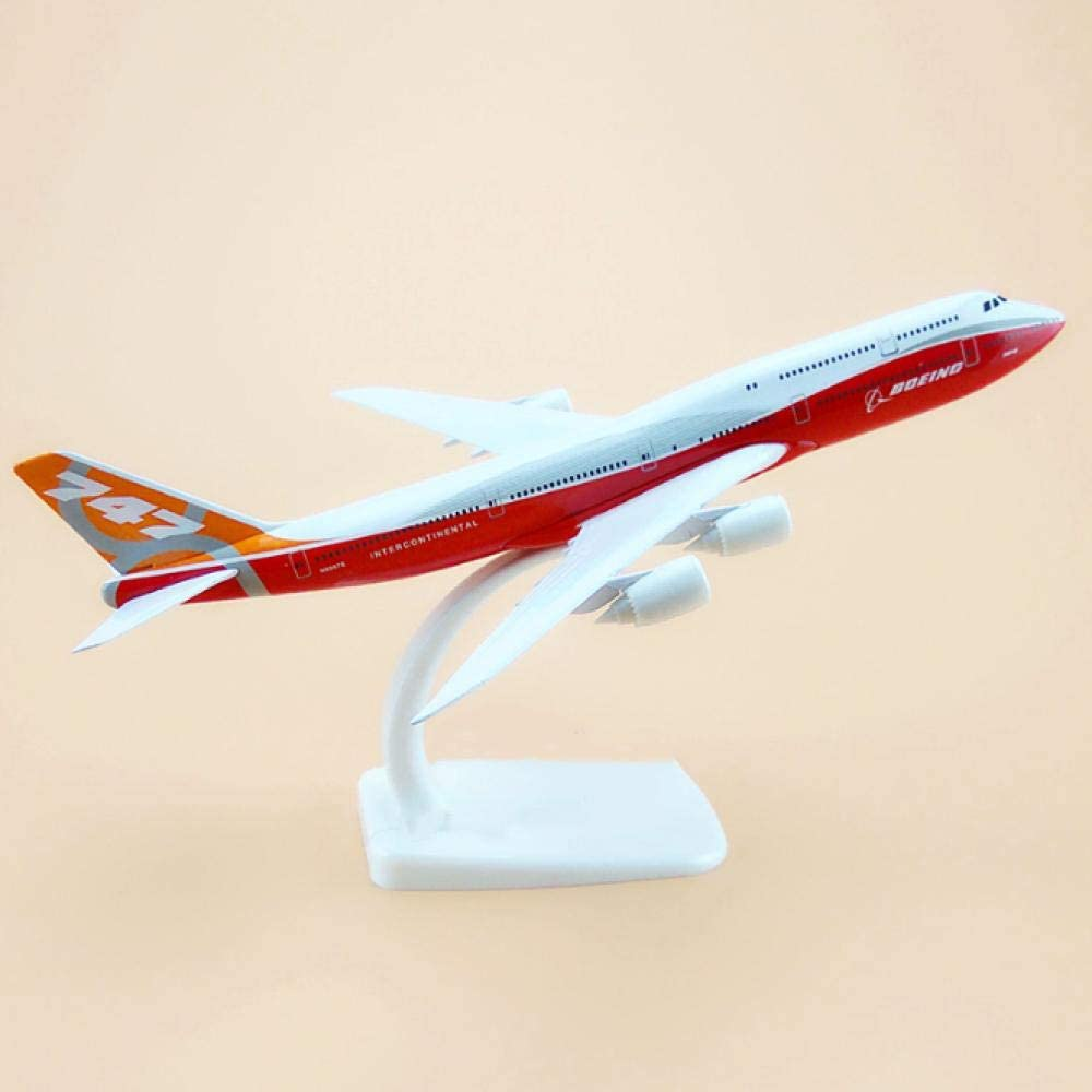 20 cm Aircraft Boeing B747 Max 52% New York Mall OFF B747-8 Airli Prototype Model
