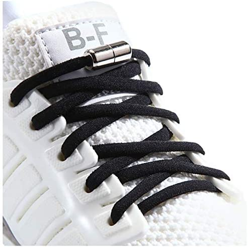 Booyckiy No Tie Elastic Shoelaces for Kids Adults and Elderly Adjustable Tieless Shoe Laces product image