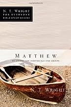 Matthew (N. T. Wright for Everyone Bible Studies)