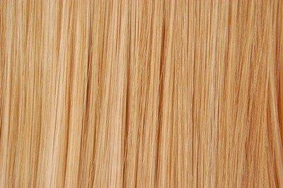 Extensions de Cheveux Ondulées à Clips Couleur blond cendré   Tête Entière 10 Clips   Fibre Effet Cheveux Stylisable et Thermorésistante   Longeur 45c