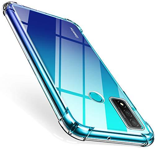ivencase Funda para Huawei P Smart 2020, Ultra Fina Silicona Transparente TPU Carcasa Protector Airbag Anti-Choque Anti-arañazos Case Cover para Huawei P Smart 2020