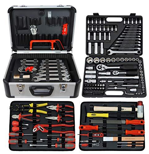 Famex 719-50 - Caja de herramientas (207 piezas)