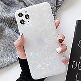 Tybaker iPhone 11 Pro Max Hülle HandyHülle Soft Flex Hüllen Silikon Hülle Ultra Dünn Schutzhülle TPU Bumper Schutz Tasche Schale HandyHullen Hülle Cover für Apple iPhone 11 Pro Max,Shell Farbe