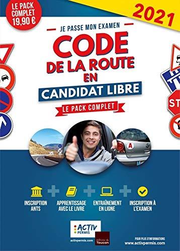 code de la route 2021 en candidat libre