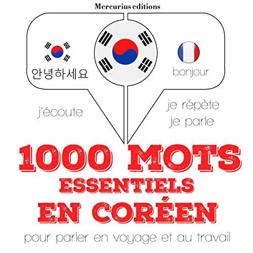 Couverture de 1000 mots essentiels en coréen