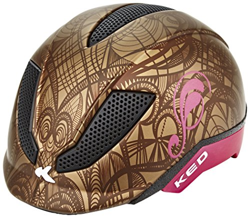 KED Pina Ride & Bike Helmet Kids Brown Matt Kopfumfang 50-53 cm 2017 mountainbike helm downhill