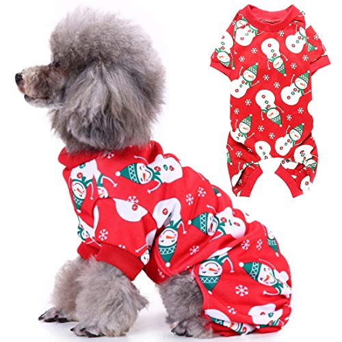 YUESEN Pet Dress Up Perro Disfraz de Copo de Nieve Suéter para...