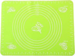 Réutilisable Tapis de Cuisson en Silicone,Anti-Adhérent Feuille de Cuisson Patisserie avec Mesures,Cuisine Outil de Cuisso...