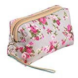 Beauty and Make Up Cosmetics Pouch/Bag/Case/Holder for Makeup Utensils, Tools And Toiletries For Traveling or Home