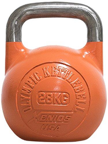 Xenios USA XSSTOKBL28, Russian Girevoy Competition Kettlebell Unisex, Arancione, 28 kg