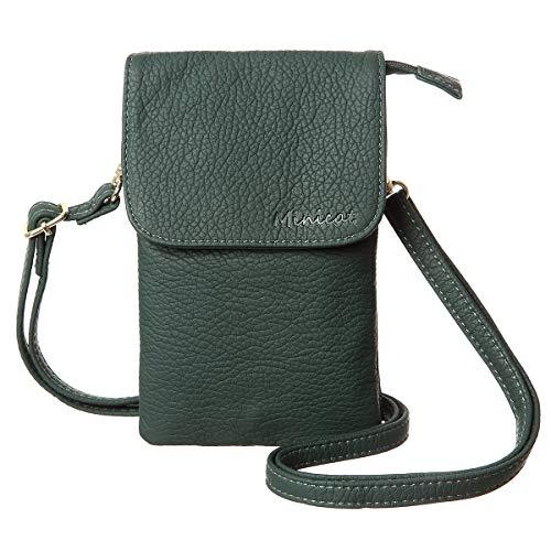 MINICAT bolsillos amplios serie Small Crossbody Bolsas teléfono celular bolso cartera para las mujeres