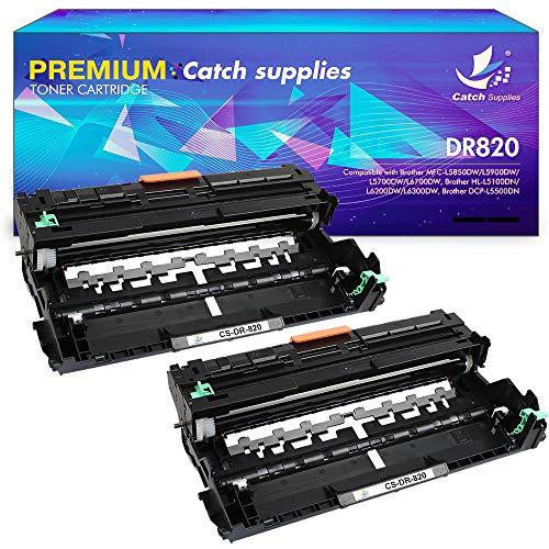 Catch Supplies Compatible Drum Unit Replacement for Brother DR820 DR-820 DR 820 Drum Unit Brother HL-L6200DW MFC-L5900DW HL-L5100DN MFC-L5800DW MFC-L5700DW HL-L5200DWT MFC-L6700DW HL-L5200DW