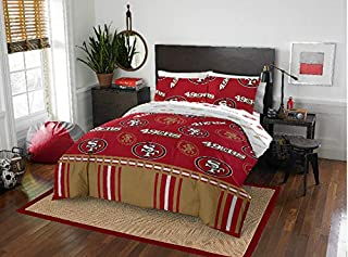Sports Bedding San Francisco 49ers Full Comforter & Sheets (5 Piece Bed in A Bag) New!