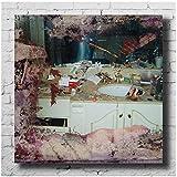 PDFKE Pusha T Daytona Music Album Cover Poster e Stampe su Tela Wall Art Pittura Immagini per Soggiorno Decorazioni per la casa Regalo -24x24 Pollici Senza Cornice 1 PC