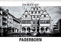 Ein Blick auf Paderborn (Wandkalender 2022 DIN A3 quer): Ein ungewohnter Blick in harten Schwarz-Weiss-Bildern auf die Stadt Paderborn (Monatskalender, 14 Seiten )