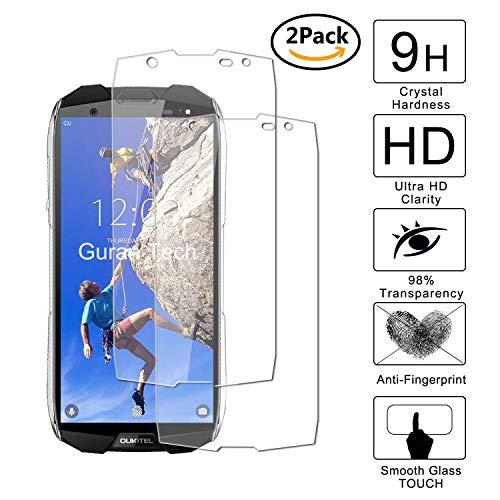 Guran [2 Pezzi] Pellicola Protettiva per Oukitel WP5000 Smartphone Ultra Sottile Screen Protector in Vetro Temperato Film Ultra Resistente
