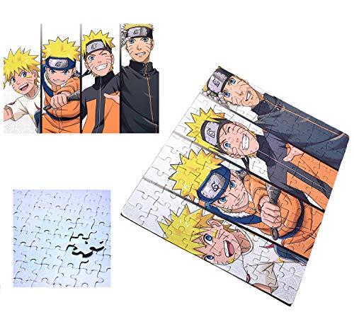 PUZZLE 120 PIEZAS NARUTO EDADES PERSONAJE rompecabezas educativo puzle