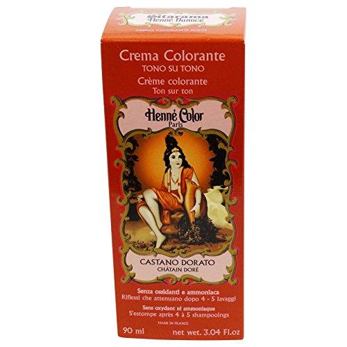 Sitarama Henne Crema Colorante Castano Dorato Tintura Naturale EcoBio