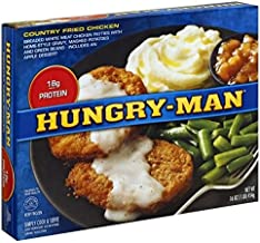 HUNGRY MAN TV COUNTRY FRIED CHICKEN DINNER 1 LB PACK OF 3