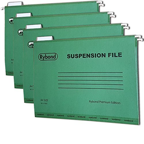 Suspension Files A4 [25 PACK] Heavyweight with Tabs and...