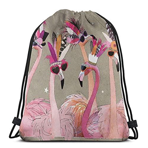 Lmtt Mochila con cordón Sports Gym Sackpack Travel Bag s Art