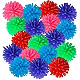 ArtCreativity Spiky Hedge Balls for Kids, Bulk Pack of 144, Soft Sensory Balls in Various Vibrant Colors, Calming Sensory Fidget Toys for Autistic Children, Fun Birthday Party Favors