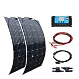 kit solar camper 200w flexible