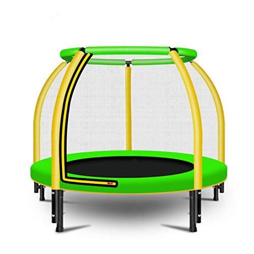 Kids Exercise Trampoline with Safety Net Enclosure, Waterproof Safe And Durable Nursery Trampoline for Children Home Gym Fitness Max Weight 200Kg
