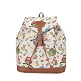 Signare Tapestry Fashion Backpack Rucksack for Women with Owl Design (RUCK-OWL)