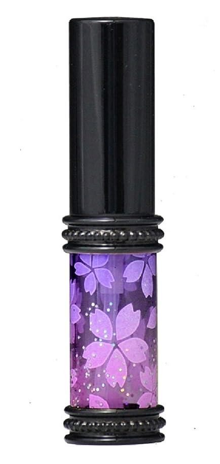 病気細胞感度ヒロセアトマイザー メタルラメさくらアトマイザー 16178 PU/PK(メタルラメさくら パ-プル/ピンク) 真鍮玉レット飾り付