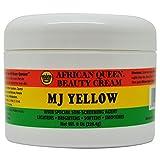 African Queen Beauty Cream Mj Yellow 8oz