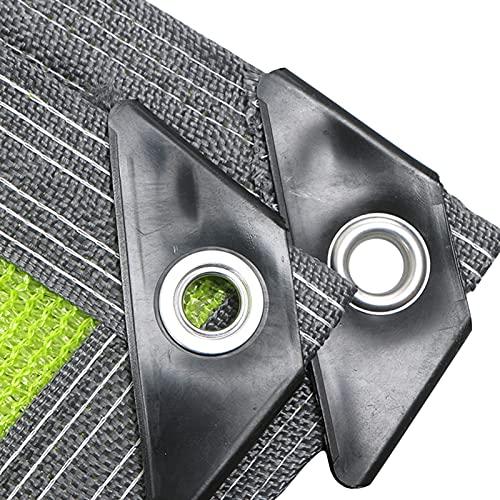 ERLAN Tela de Sombra Verde Tela de Tela de Sombra con Ojales, Planta Al Aire Libre Lona de Sombra de Verduras Paño Permeable para Interior o Exterior, 120g/ M² (Size : 4×8m/13×26ft)