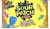 Sour Patch Kids Extreme Sour Soft & Chewy Candy 3.5oz Theater Box
