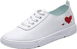 RAZAMAZA Women Casual Flats Sneakers Lace Up