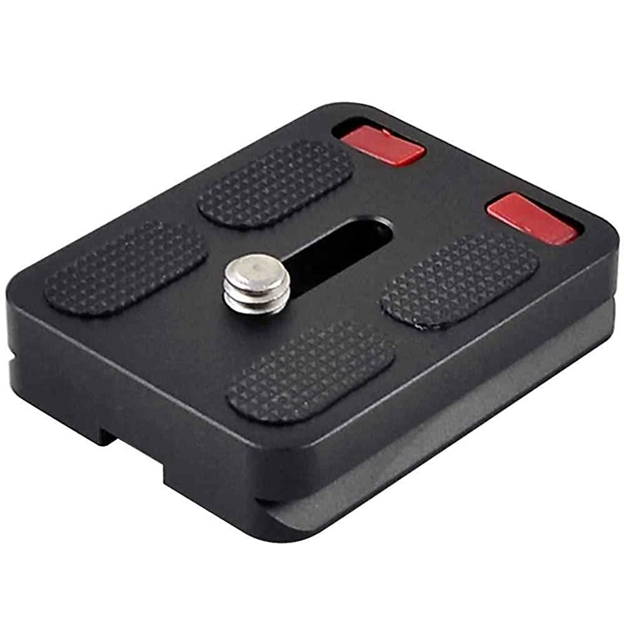 MENGS TY-50 Camera Quick Release Plate for DSLR Camera, Black