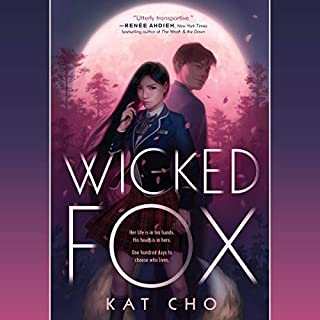 Wicked Fox audiobook cover art