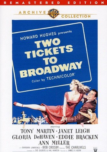 Two Tickets To Broadway [Edizione: Stati Uniti] [Reino Unido] [DVD]