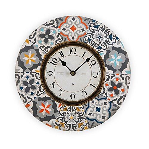 Versa 18190200 Reloj, Madera, alfama Gris, 29x4x29