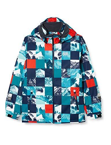 Lego Wear Jungen LWJOSHUA - Lego Tec Play Jacke, 768 Dark Turquoise, 116