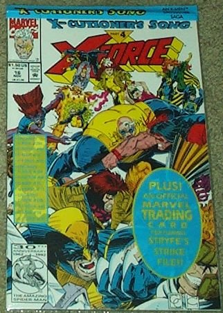 X-Force Issue #16 Special Poly Bag Edition with Marvel Trading Card (X-Cutioner's Song Part 4)