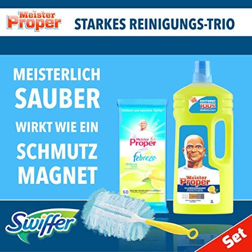 Meister Proper Set Allzweckreiniger 2l +60 Reinigungstücher +Swiffer StarterSet