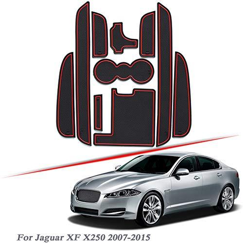 , para 10pcs Car Styling Gate Slot Pad, para Jaguar XF X250...
