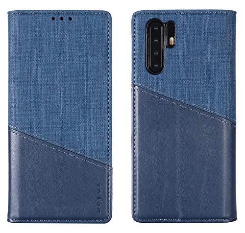 Cases Covers RFID blokkeren portemonnee Case, Stitching stijl slanke PU lederen schokabsorberende Case met verborgen magnetische sluiting voor Huawei P30 Pro mobiele telefoon Accessoire Kits