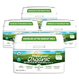 Happy Baby Organic Infant Formula Milk Based Powder with Iron, Stage 2, 21 Ounces, 4...