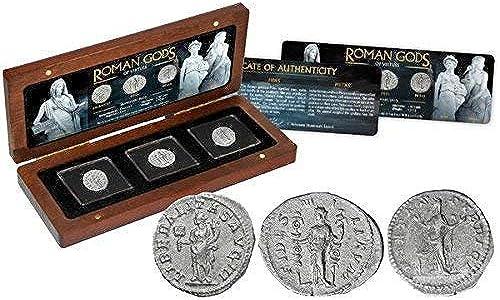 Ven a elegir tu propio estilo deportivo. IMPACTO COLECCIONABLES Monedas Antiguas - 3 Denarios Denarios Denarios de plata - Los Dioses Romanos  con 60% de descuento