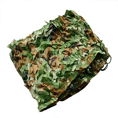 Mountain Jungle Camouflage Net Oxford Doek Zon Gordijn Fotografie Vogels Kijken Camping Verborgen Vissen Netto Decoratie Studie Camping Tent Auto Cover Multi-size Optioneel (Maat: 3 * 3m) Carl Art