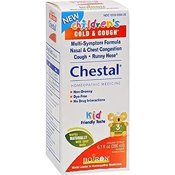 Boiron Children s Chestal Cough and Cold - 6.7 oz - Gluten Free-Dairy Free-Yeast Free-Wheat Free-Vegan
