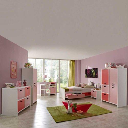 Kinderzimmermöbel Set Casa für Mädchen (6-teilig) Pharao24